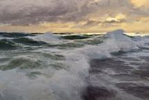 Art (Seascapes) / The painted ocean