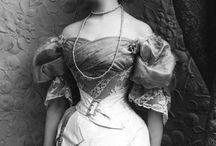 Mode à la fin du XIXe siècle