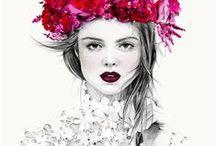 Fashion illustrations / fashion