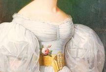 Mode sous la Restauration et l'Epoque Romantique / Entre 1815 et 1850