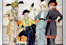 Mode au début du XXe siècle / Entre 1900 et 1920 / by Impératrice Plum