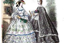 Mode sous le Second Empire / Entre 1852 et 1870