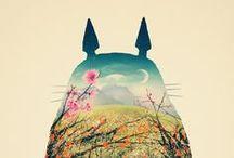 Totoro World / Porque somos fans de Totoro!  Because we are Totoro fans! :)