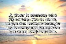 Sisters: Quotes and Poems / Sisters: Quotes and Poems by WishesMessages.com