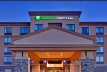 Holiday Inn Express & Suites Huntsville, Ontario, Canada / Situated within Ontario's most breathtaking landscape, this Vrancor-built hotel enjoys easy access to Algonquin Provincial Park, Muskoka Heritage Park and the Trans-Canada Trail. STAY IMPRESSED with free upgraded Wi-Fi throughout, parking, full hot breakfast buffet and a full compliment of leisure amenities to enhance your stay.