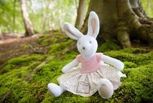 Ragtales soft toys / Once in a while, something truly gorgeous comes along....Beautiful soft toys made in the UK some of which will be joining The Children's Corner in Seaton, Devon soon... / by janet warner
