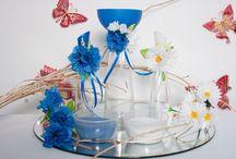 Песочная церемония / Песочная церемония очень трогательный и красивый ритуал. Для ее проведения мы предлагаем комплекты с авторским декором.По желанию напишем Ваши имена или пожелания друг другу.Выполним комплекты  в цвете и  стилистике Вашей свадьбы. Декоративные элементы не боятся влажной чистки.Их легко снять, почистить и закрепить вновь. Ведь Вам хранить  эти сосуды долгие годы!