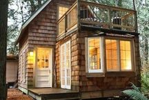 T i n y   H o u s e s / The most creative tiny houses, for the writer who wants to compact their living, and focus on writing (while being surrounded by awesomeness).