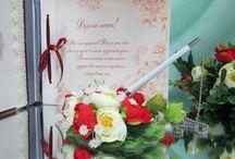 Ручки для регистрации брака или записи в Книге пожеланий. / В такой торжественный день даже ручка  должна быть необычайно красивой и в стиле свадьбы.