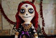 Catrina-mania / Día de los Muertos. Day Of the Dead. Mexican Catrina.