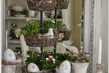 Wielkanoc i wiosna - dekoracje