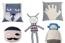 Handmade Toys / Handmade, Knit  Toys and Cushions