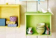 Cajones Reciclados / Cajones Reutilizados para la decoración de la casa