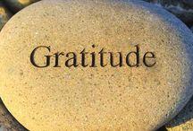 G r a t i t u d e / Cultivating gratitude...