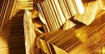 "Gold / ""Much have I traveled in the realms of gold, and many goodly states and kingdoms seen."" John Keats"