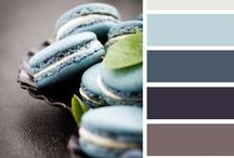 Color boards /  Intriguing color pairings.