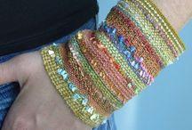 Ideas... Bracelets / by MARIA ROUSSOU