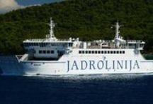 Chorwacja - Promy i Adriatyk / Chorwacja to kraj wyspiarski, linia brzegowa Chorwacji wynosi 5835 km, Adriatyk jest więc nieodłącznym elementem krajobrazu. A skoro są wyspy i morze, to muszą też być i promy, jachty i wszelakiej maści motorówki i łodzie.