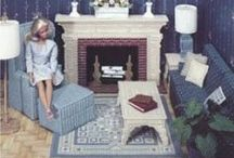 Barbie plastic canvas/ doll house / by Lori Sebok