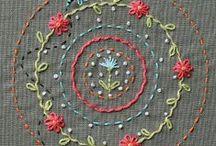 hímzésminták - stitch motifs