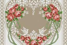 X stitch flowers