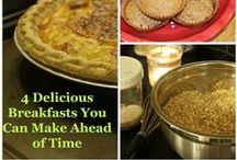 Breakfast / Heathy, Tasty Foods to Start the Day Right.