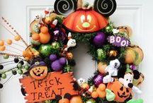 Halloween Wreaths, Hats, Shoes and Boots