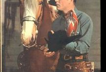 Roy Rogger / Roy Rogers, born Leonard Franklin Slye (November 5, 1911 – July 6, 1998), was an American singer and cowboy actor, one of the most heavily marketed and merchandised stars of his era, as well as being the namesake of the Roy Rogers Restaurants franchised chain. He and his wife Dale Evans, his golden palomino, Trigger, and his German Shepherd dog, Bullet, were featured in more than 100 movies and The Roy Rogers Show. The show ran on radio for nine years before moving to television from 1951...
