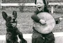 Vintage Pets & People Photography