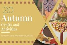 Autumn Crafts and Activities for Kids / a selection of autumn crafts and activities best suited for pre-schoolers
