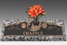 Headstones / Headstones are available today in a variety of styles and colors to meet just about every memorial need. Bronze headstones feature a beautifully engraved bronze plaque mounted to a sturdy granite base. Granite headstones are an age-old tradition featuring luxurious designs and customized lettering. Both styles of headstones are common and beautiful they are also called grave markers or grave stones (gravestones), and are available as individual size grave markers and companion grave markers.