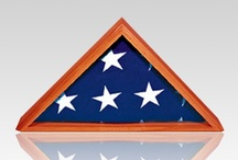 Flag Cases / Flag cases designed as tributes to United States military veterans are sometimes also called shadowboxes, flag displays, medallion display cases, medal cases, and even the simple flag display case. Regardless of the name, though, flag cases are perfect for building a memorial in your home or place of business to the memory of a cherished United States military veteran. All flag cases are designed to hold our US American Flag delivered to the family of every deceased military veteran.
