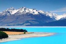 New Zealand / Real shots of New Zealand.  I've been all over this country, so I know what its like.  Beautiful.