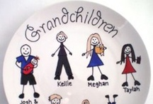 Mother's Day Gift Ideas / Personalised and hand painted Mother's Day Gifts for Mum, Nan, Gran or anyone else you'd like to have a special gift for Mother's Day.  Custom orders are also welcome!