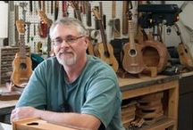 CF Casey Guitars / Master luthier Fred Casey lives 5 miles west of Winnipeg Beach, studio #18.  www.cfcaseyguitars.com / by WAVE Artists