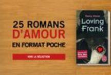 25 romans d'amour en format poche