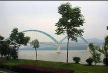 Yichang to Shanghai (via the Yangtze).