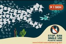 Clean Ocean / Keep Trash Out Of The Ocean. Global Action for Trash Free Seas.