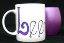 Coffee Mugs by R.E.S Designs