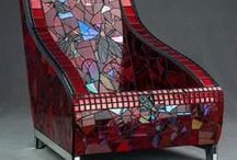 glass, tile & mosaic / by jeanne moses