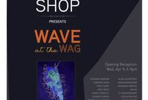WAVE at the WAG 2014 / 27 Interlake WAVE artists put the ART in HEART at this exhibition at the WAG Gallery Shop / by WAVE Artists