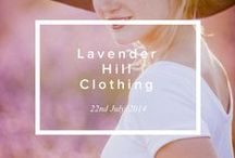 LHC campaigns / A selection from Lavender Hill Clothing's latest photoshoots.