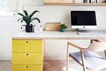 Hello Workspace / Find down to earth designs and real life decorating inspiration for your home office or workspace. A place to hustle, get things done while staying organized - the modern workspace needs to be stylish and functional. Find ideas for how to design your own workspace or home office with tips from the Leon's Hello Yellow bloggers.