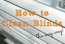 Make & Do: Cleaning Blinds / Keep your blinds clean, fresh and looking good as new by following these quick and easy steps.