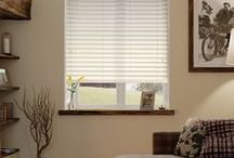 Blinds: Wood Venetians / With a large range of both real and faux-wood blinds available in varying slat sizes, we're certain that we'll have the right traditional window dressing to suit your home.