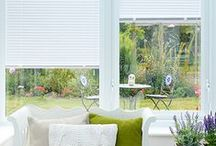 Blinds: Conservatory / Not only do we provide excellent blinds for you home, we also have a range of conservatory blinds available.