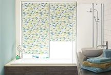 Blinds: Bathroom / All the blinds featured on this board are suitable for use in a bathroom, meaning that they're just as practical as they are beautiful!