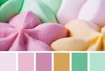 We Love: Colour Palettes / The contrasting colours of these gorgeous themes will help you give your home the perfect look. Take a look and see if you can find that colour scheme that you've been searching for.