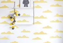 Hello Kids Rooms / Find down to earth designs and real life decorating inspiration for your child's bedroom or kid friendly space. A place to sleep, play and cuddle up with their parents - the modern children's room needs to pass the real life test, functional and stylish rolled into one! Find ideas for how to decorate kid friendly spaces with easy tips from the Leon's Hello Yellow bloggers.