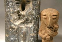 Ancient artifacts figurines / Skills and creativity of the past